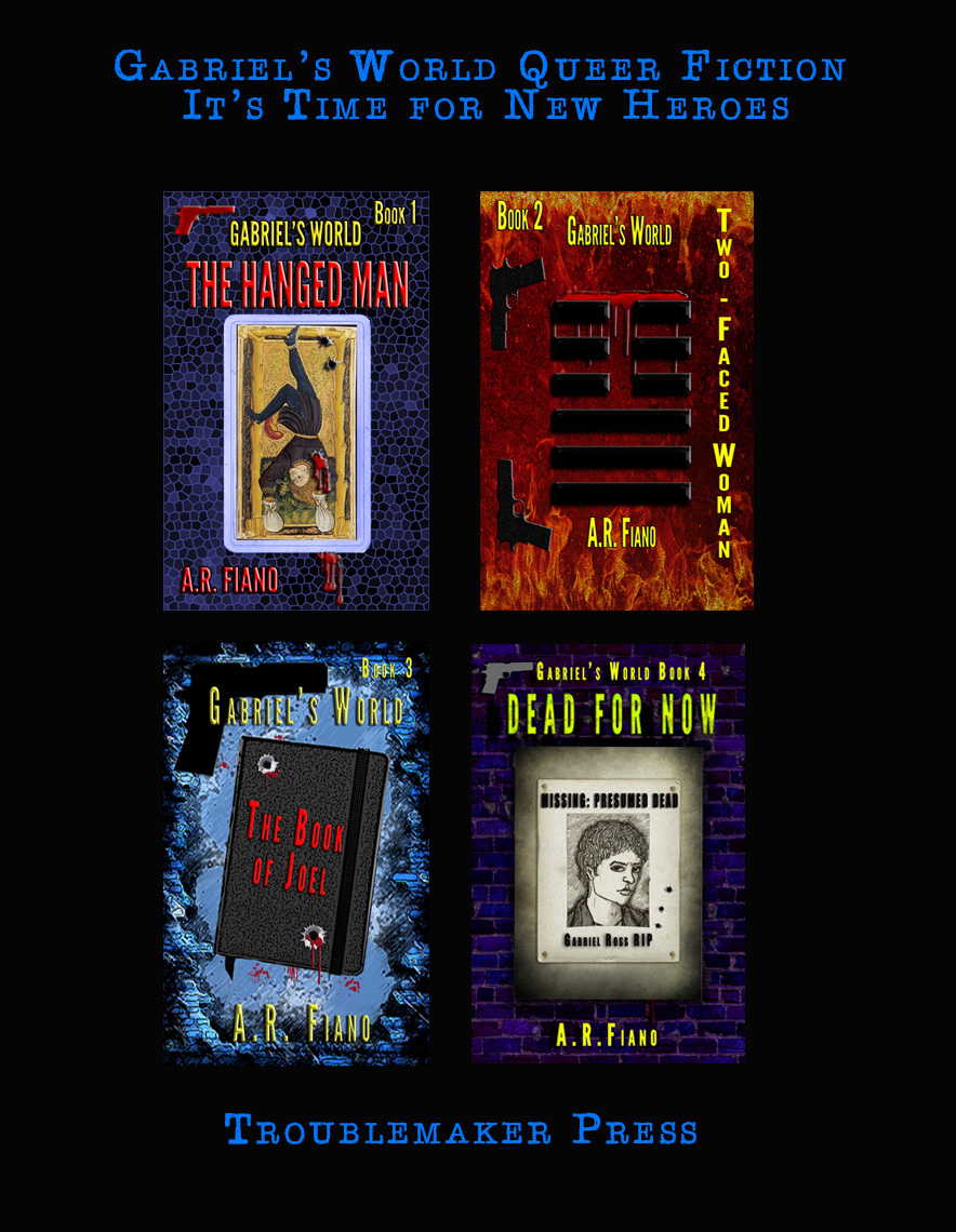 Covers of the Four Gabriel's World books